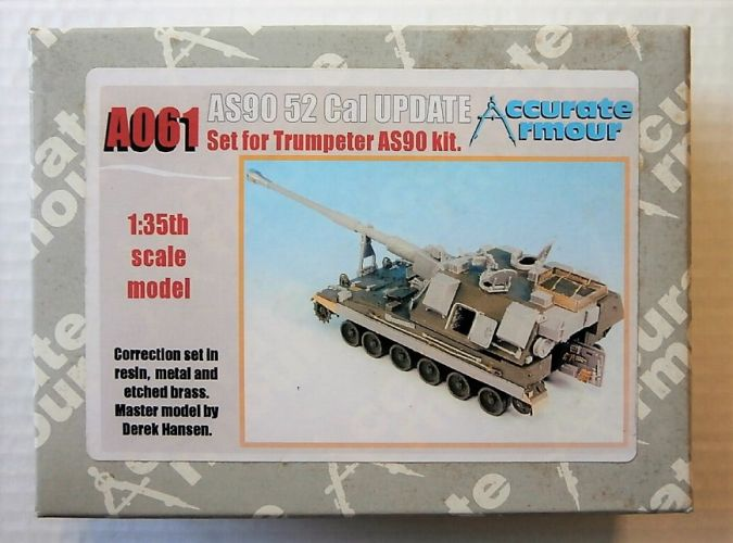 ACCURATE ARMOUR 1/35 A061 AS90 52 Cal UPDATE
