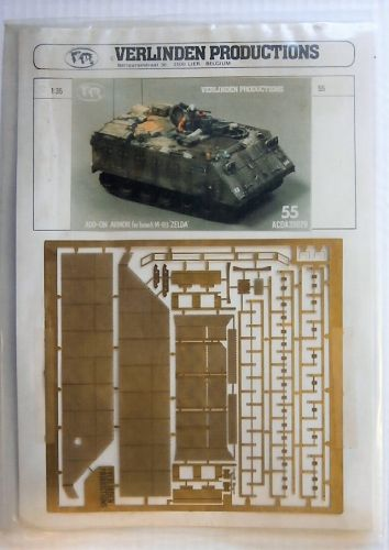 VERLINDEN PRODUCTIONS 1/35 35029 ADD-ON ARMOUR FOR ISRAELI M-113 ZELDA