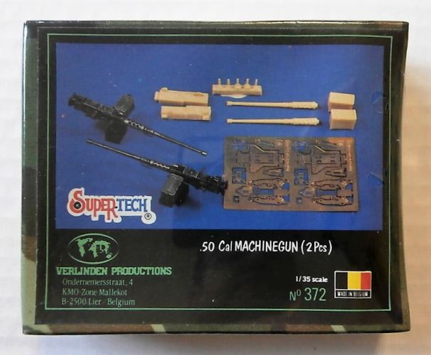 VERLINDEN PRODUCTIONS 1/35 372 .50 CAL MACHINEGUN  2 PCS