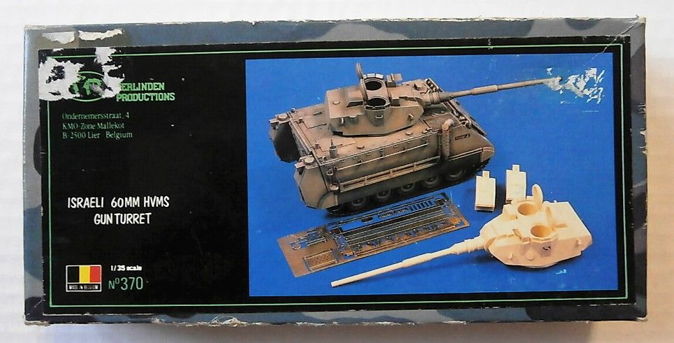 VERLINDEN PRODUCTIONS 1/35 370 ISRAELI 60MM HVMS GUN TURRET