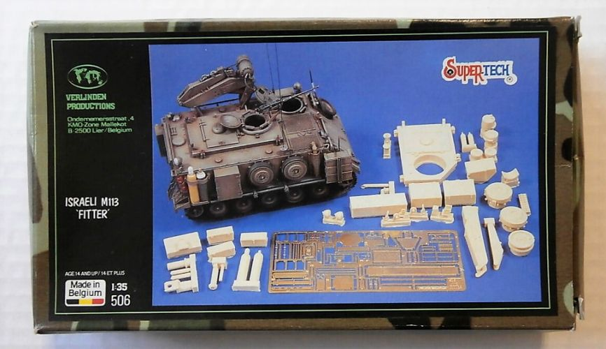 VERLINDEN PRODUCTIONS 1/35 506 ISRAELI M113 FITTER