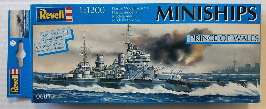 REVELL 1/1200 06812 PRINCE OF WALES - MINISHIPS
