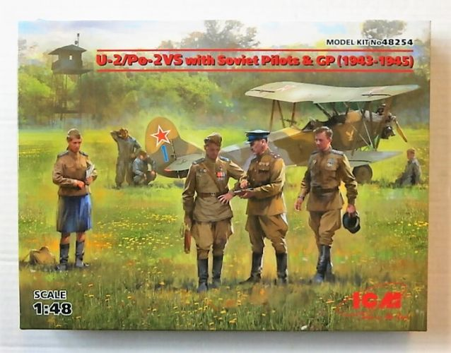 ICM 1/48 48254 U2/PO-2 VS WITH SOVIET PILOTS   GP  1943-1945
