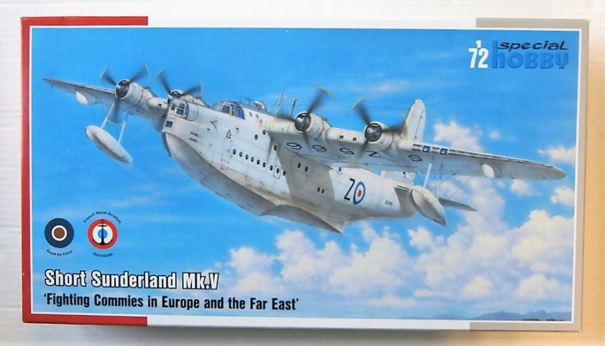 SPECIAL HOBBY 1/72 72162 SHORT SUNDERLAND MK.V FIGHTING COMMIES IN EUROPE AND THE FAR EAST
