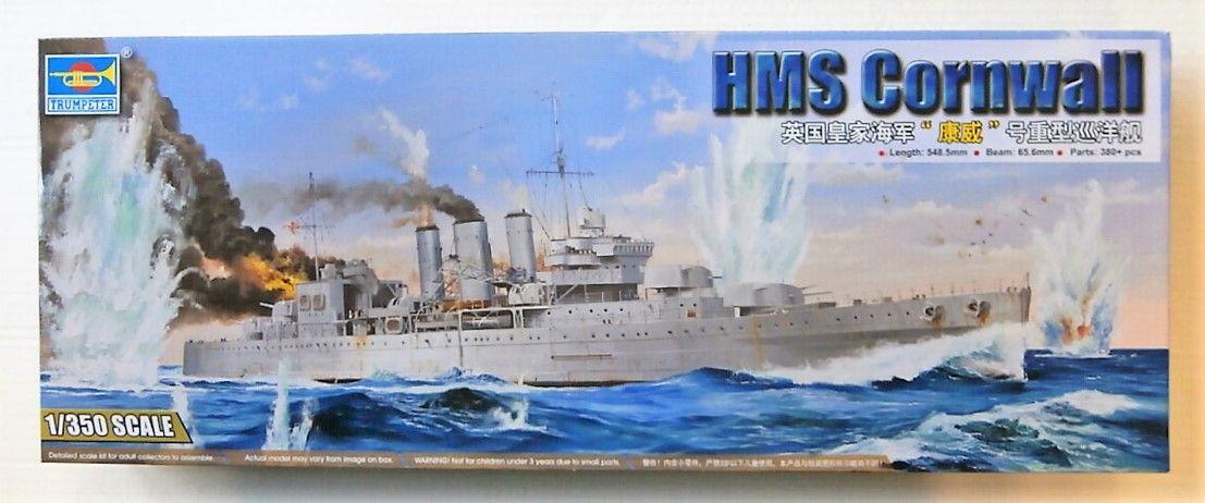 TRUMPETER 1/350 05353 HMS CORNWALL