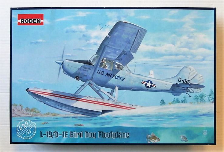 RODEN 1/32 629 L-19/ 0-1E BIRD DOG FLOATPLANE