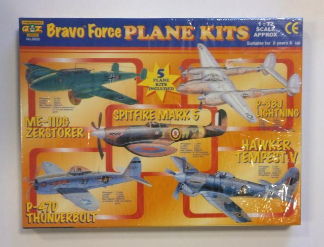PADGETT 1/72 6805 BRAVO FORCE PLANE KITS