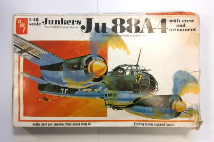 AMT 1/48 T647 JUNKERS Ju 88A-4