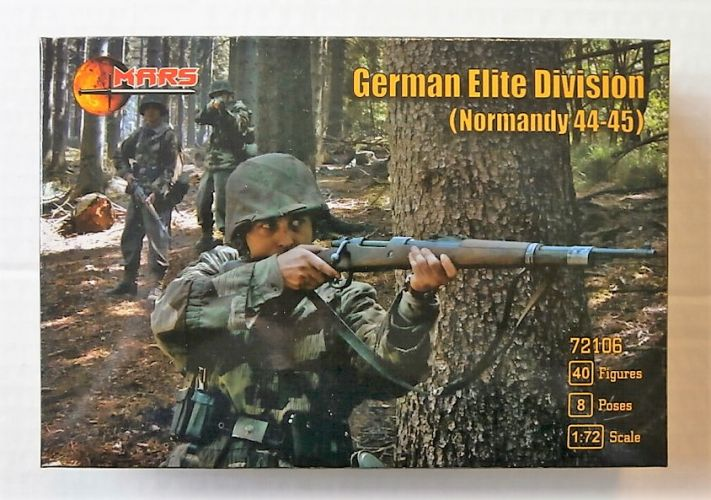 MARS 1/72 72106 GERMAN ELITE DIVISION NORMANDY 44-45