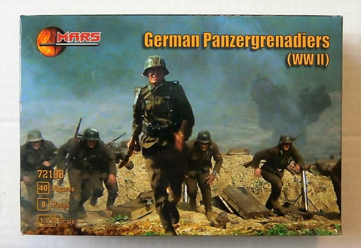 MARS 1/72 72108 GERMAN PANZERGRENADIERS WWII