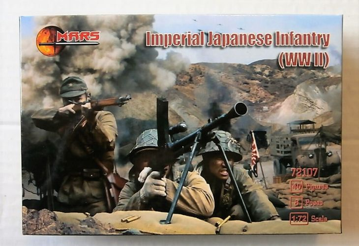 MARS 1/72 72107 IMPERIAL JAPANESE INFANTRY WWII