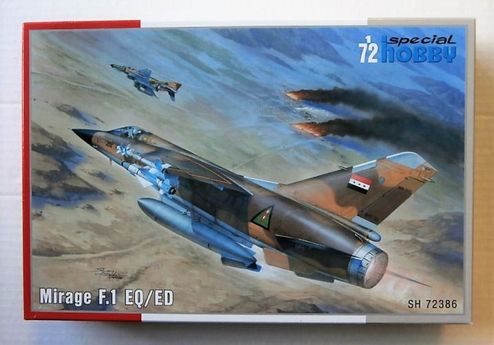 SPECIAL HOBBY 1/72 72386 MIRAGE F1 EQ/ED