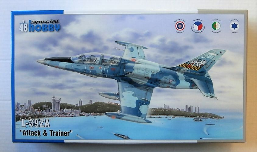 SPECIAL HOBBY 1/48 48167 L-39ZA ATTACK   TRAINER