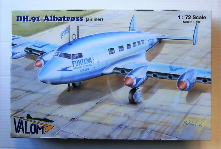 VALOM 1/72 72128 DH.91 ALBATROSS AIRLINER