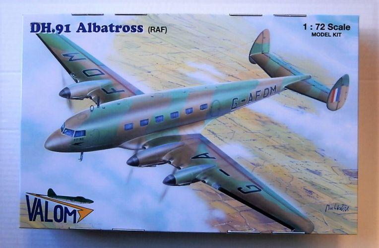 VALOM 1/72 72129 DH.91 ALBATROSS RAF