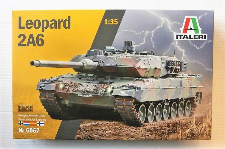 ITALERI 1/35 6567 LEOPARD 2A6