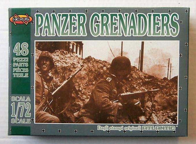 NEXUS 1/72 ATL019 PANZER GRENADIERS