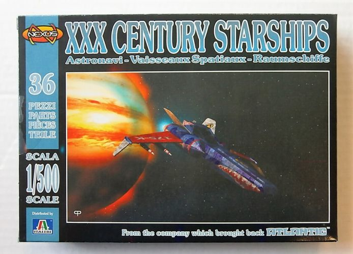NEXUS 1/500 SF001 XXX CENTURY STARSHIPS