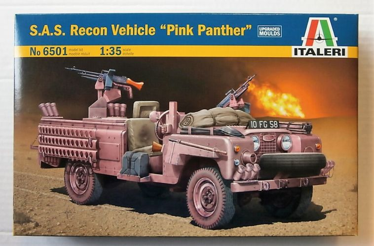ITALERI 1/35 6501 SAS RECON VEHICLE PINK PANTHER