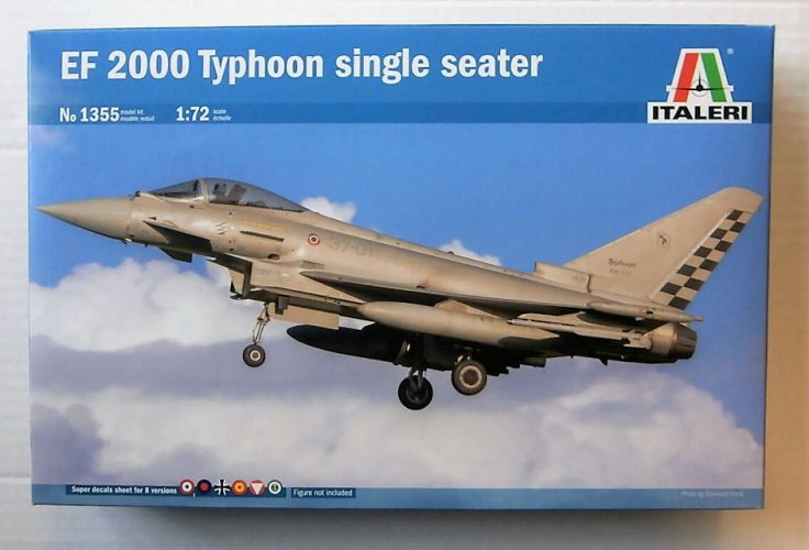ITALERI 1/72 1355 EF 2000 TYPHOON SINGLE SEATER