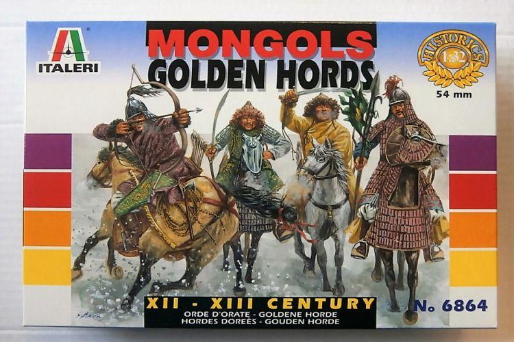 ITALERI 1/32 6864 MONGOLS GOLDEN HORDE