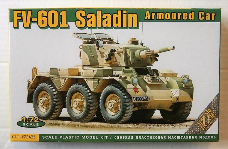 ACE 1/72 72435 FV-601 SALADIN ARMOURED CAR