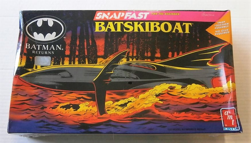AMT 1/25 6615 BATMAN RETURNS BATSKIBOAT
