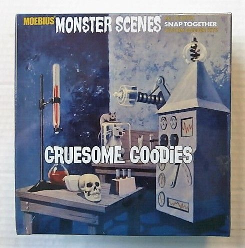 MOEBIUS  634 MONSTER SCENES - GRUESOME GOODIES