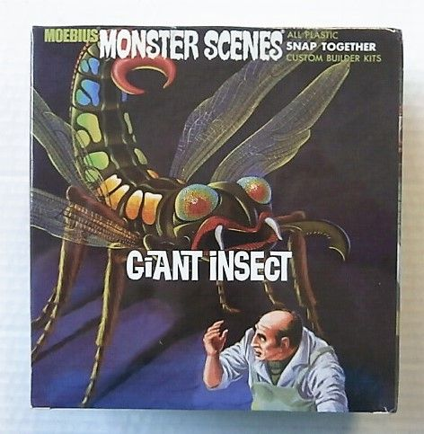 MOEBIUS  643 MONSTER SCENES - GIANT INSECT
