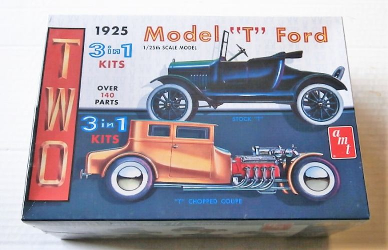 AMT 1/25 626 1925 MODEL T FORD - T CHOPPED COUPE