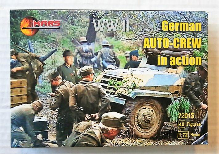 MARS 1/72 72013 GERMAN AUTO-CREW IN ACTION