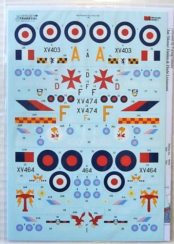 XTRADECAL 1/48 48202 ROYAL AIR FORCE PHANTOM FG.1   FGR.2 PART 4