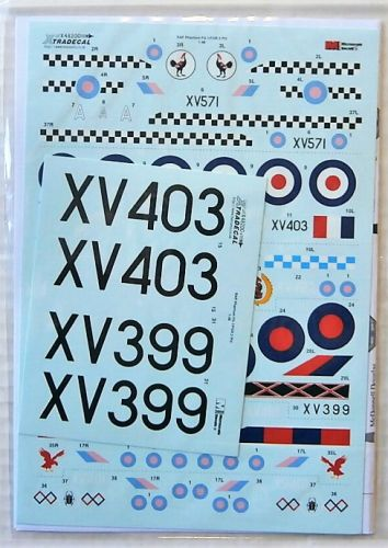 XTRADECAL 1/48 48200 ROYAL AIR FORCE PHANTOM FG.1   FGR.2 PART 2