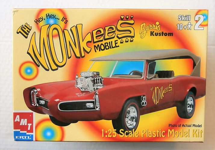 AMT 1/25 30259 THE MONKEES MOBILE