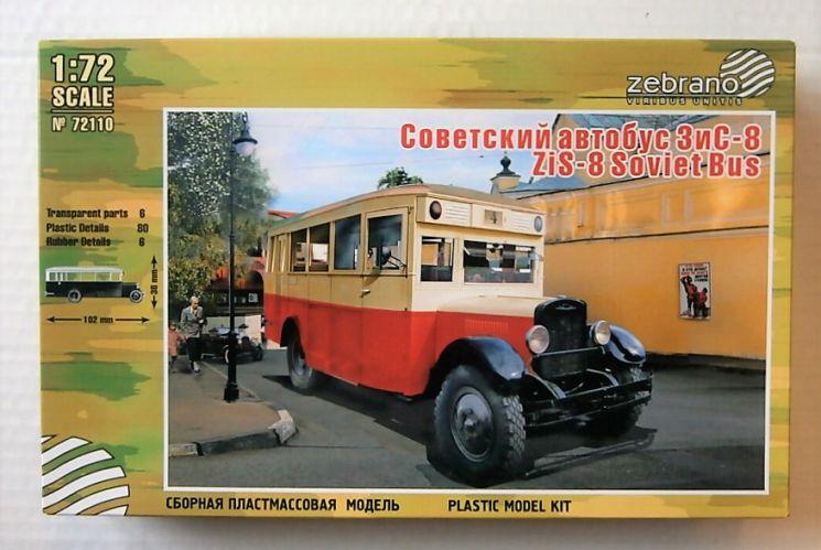 ZEBRANO 1/72 72110 ZiS-8 SOVIET BUS