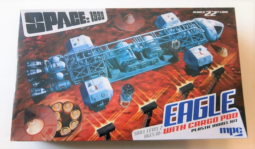 MPC  838 SPACE 1999 EAGLE WITH CARGO POD  UK SALE ONLY