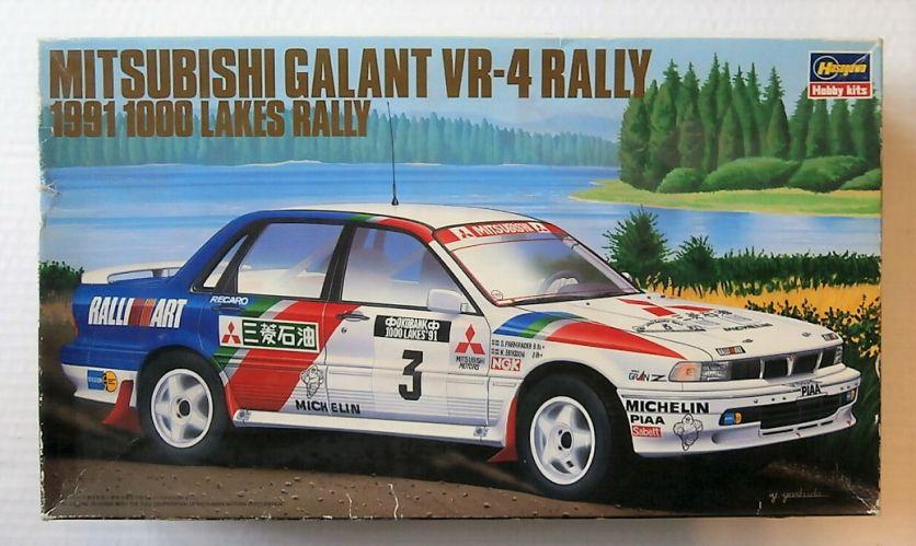 HASEGAWA 1/24 CR-2 MITSUBISHI GALANT VR-4 RALLY 1991 1000 LAKES RALLY