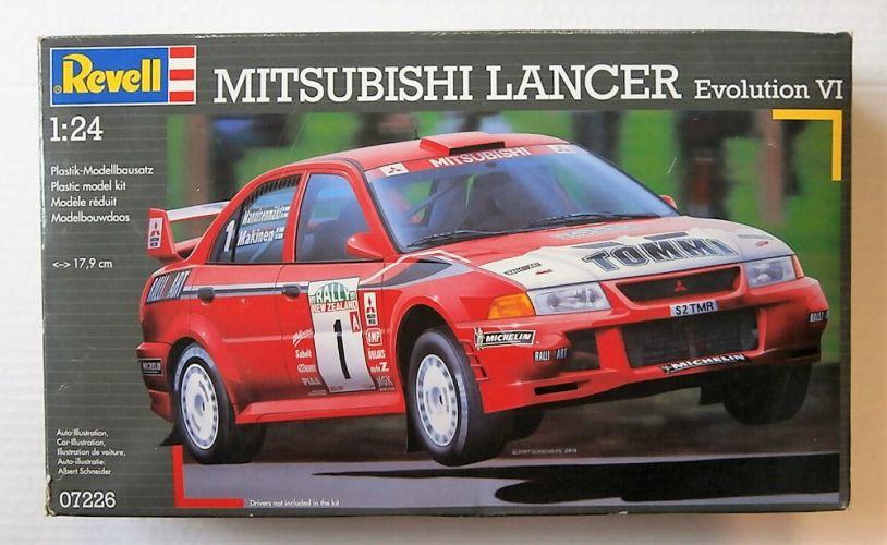 REVELL 1/24 07226 MITSUBISHI LANCER EVOLUTION VI