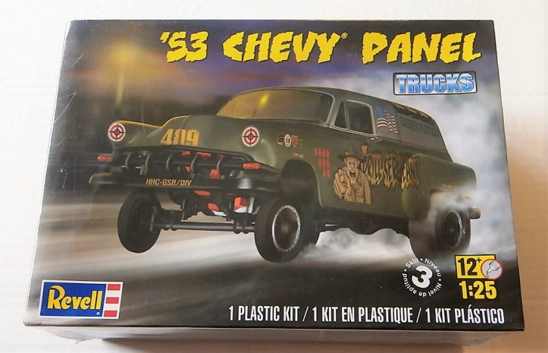 REVELL 1/25 4189 1953 CHEVY PANEL