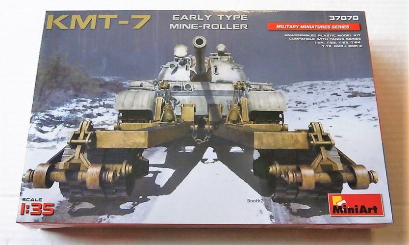 MINIART 1/35 37070 KMT-7 EARLY TYPE MINE-ROLLER