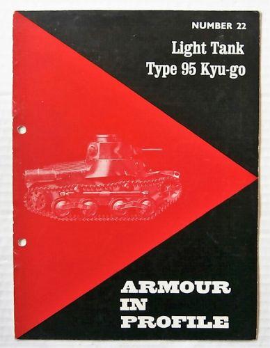 ARMOUR IN PROFILE  22. LIGHT TANK TYPE 95 KYU-GO