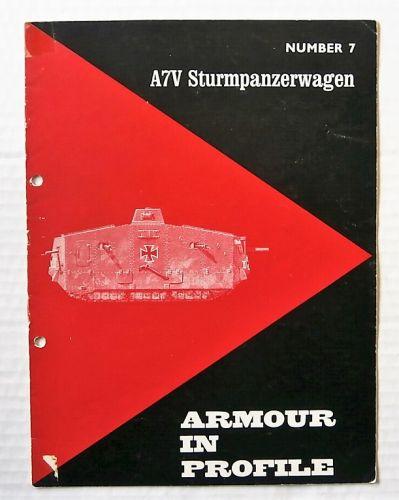 ARMOUR IN PROFILE  07. A7V STURMPANZERWAGEN