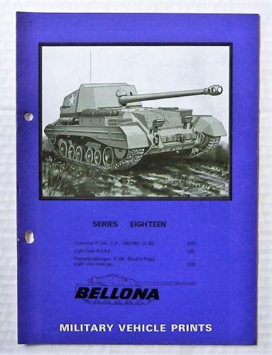 BELLONA VEHICLE PRINTS  SERIES 18 VALENTINE/ LIGHT TANK M2A4/ PANZERKAMPFWAGEN E100