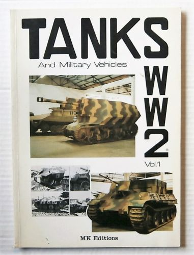 CHEAP BOOKS  ZB2658 TANKS   MILITARY VEHICLES WW2  FRENCH TEXT WITH ENGLISH TRANSLATION BOOKLET