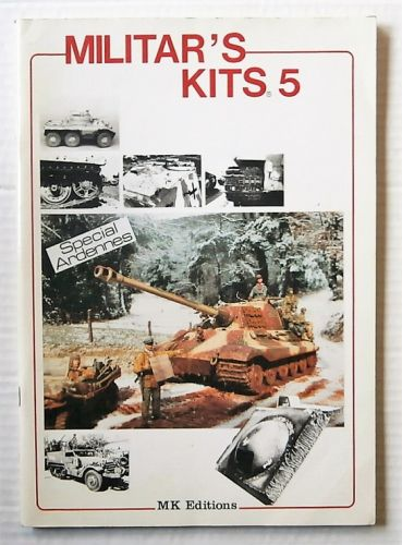 CHEAP BOOKS  ZB2659 MILITARS KITS 5 SPECIAL ARDENNES  FRENCH TEXT WITH ENGLISH TRANSLATION BOOKLET