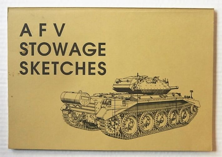 CHEAP BOOKS  ZB2661 AFV STOWAGE SKETCHES