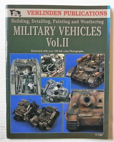 CHEAP BOOKS  ZB2664 BUILDING/ DETAILING/ PAINTING   WEATHERING MILITARY VEHICLES VOL.II