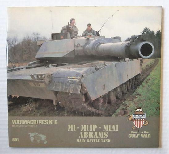 CHEAP BOOKS  ZB2671 WARMACHINES No6 M1-M1IP-M1A1 ABRAMS MBT