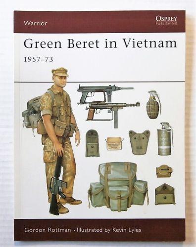 OSPREY WARRIOR  028. GREEN BERET IN VIETNAM 1957-73