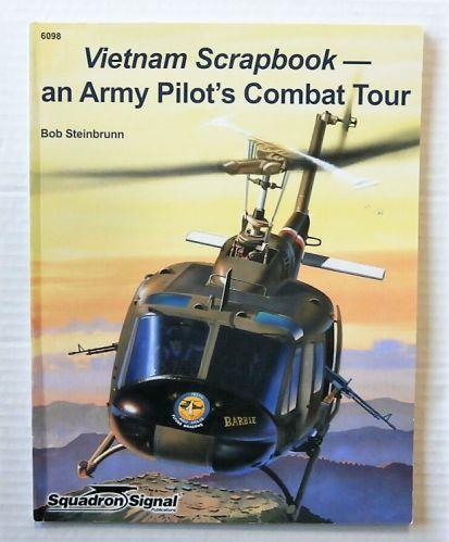 CHEAP BOOKS  ZB2702 6098 VIETNAM SCRAPBOOK  - AND ARMY PILOTS COMBAT TOUR
